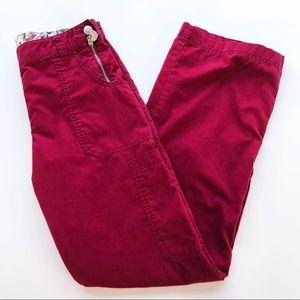 💛 Koi Scrubs Pants Sara 709 Red Nurse Vet Dental